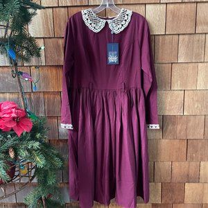 NWT Collectif Vintage ModCloth Swing Dress - Large